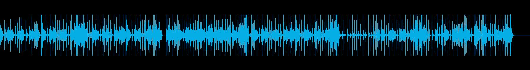 仕事がはかどるポップなドラムミュージックの再生済みの波形