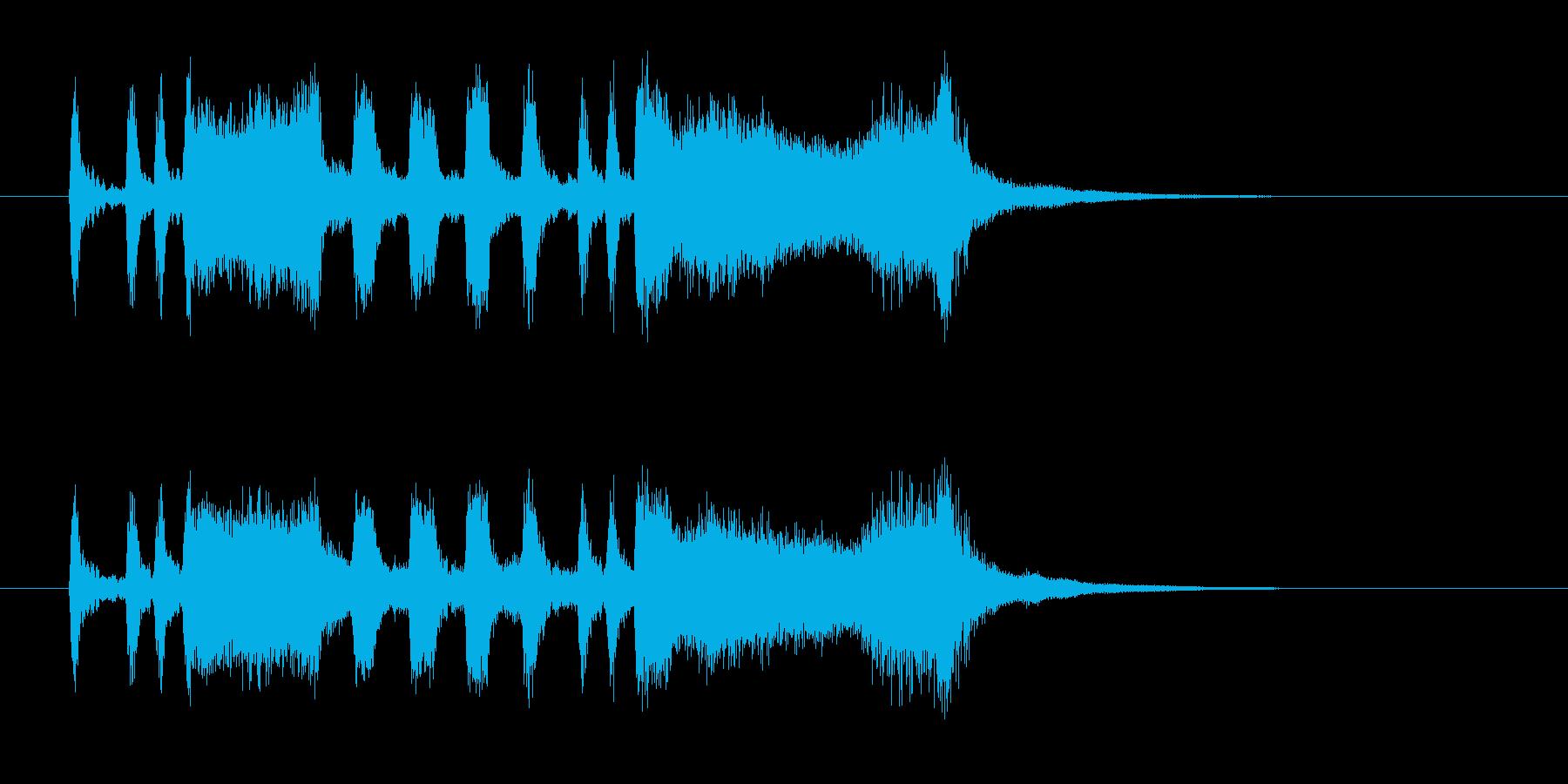 パンパカパーン(発表、成功)の再生済みの波形