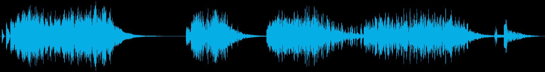 FX_62 Data Transの再生済みの波形