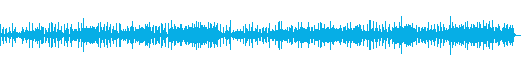 ピアノ/モード・ジャズ風の再生済みの波形