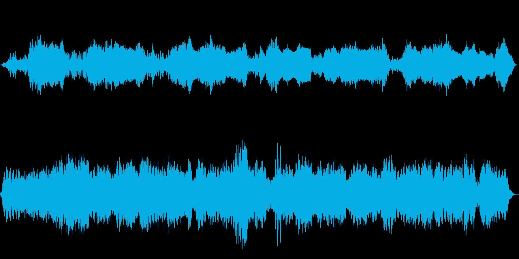 チベット風ヒーリング・幻想的な瞑想音楽の再生済みの波形