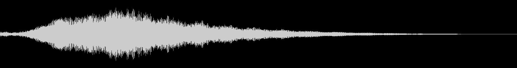 ホラー系導入音_その5の未再生の波形