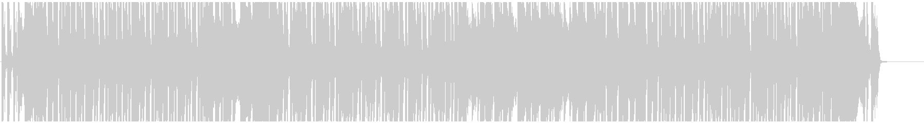 エレクトロ スウィング  ジャズの未再生の波形