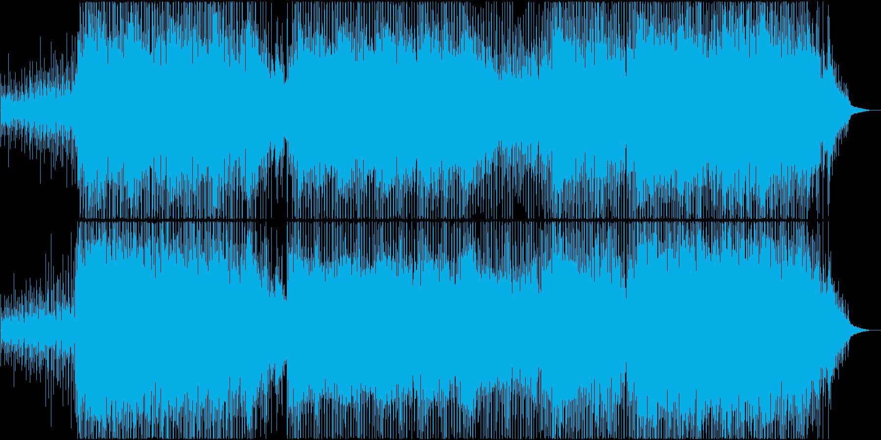 コーポレート、ポップロック、インディーの再生済みの波形