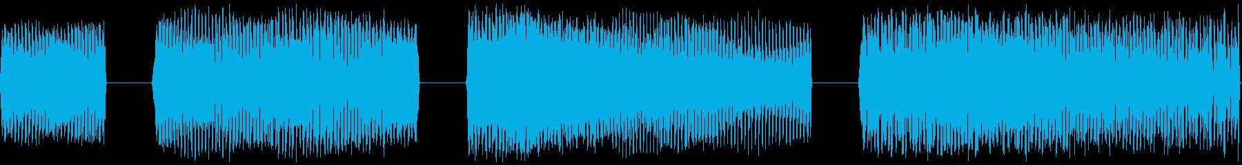FREQ DOWN、4バージョン、...の再生済みの波形