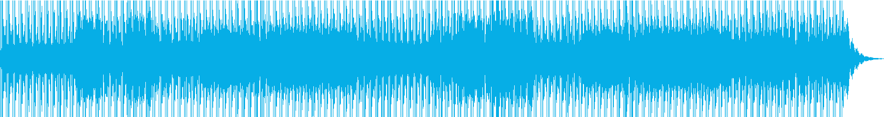 おしゃれ/クリエイティブの再生済みの波形