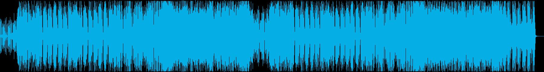 レトロでかわいいエレクトロテクノポップ!の再生済みの波形