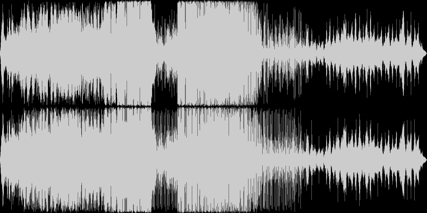 サックスとギターの軽快なロックの未再生の波形