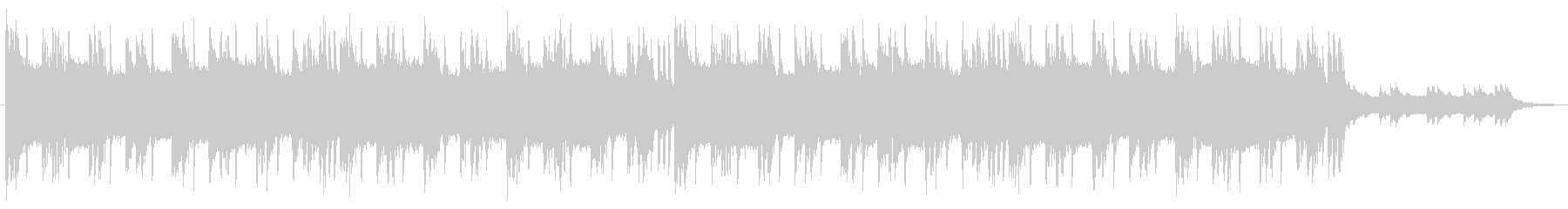 大会 エンディング ヒップホップ 60秒の未再生の波形