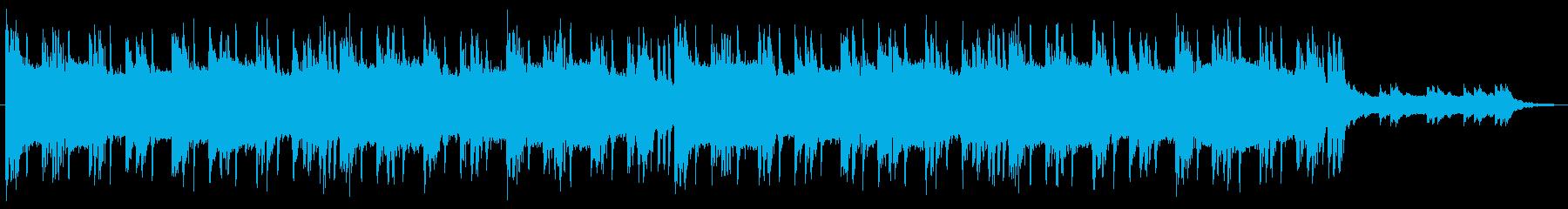 大会 エンディング ヒップホップ 60秒の再生済みの波形