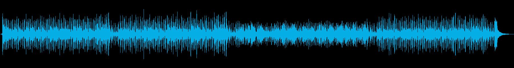 楽しくて遊び心のあるジャズスイング...の再生済みの波形