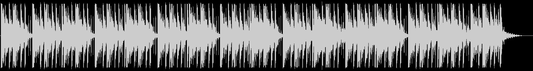 寂しい/ピアノ/R&B_No489_4の未再生の波形