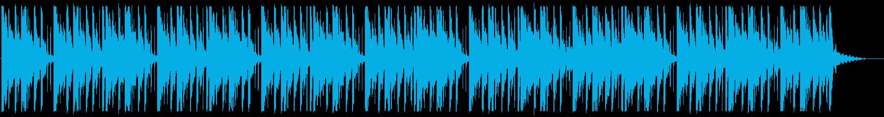 寂しい/ピアノ/R&B_No489_4の再生済みの波形