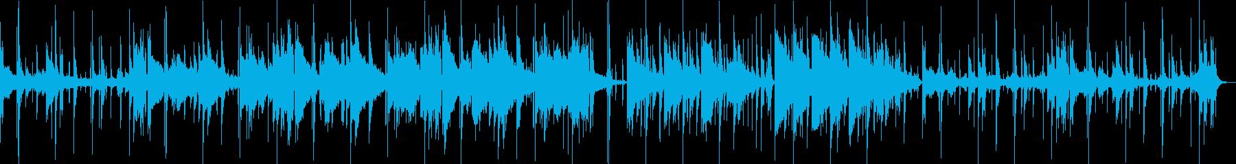 動画 バック BGM おしゃれの再生済みの波形