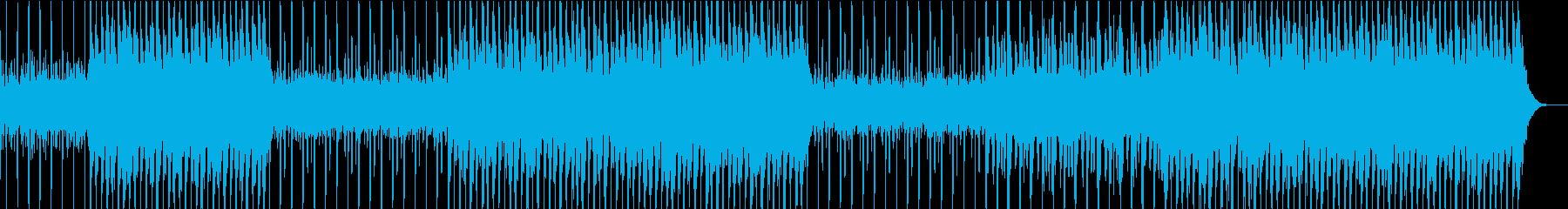 眠気が襲って来るようなチルウェーブの再生済みの波形