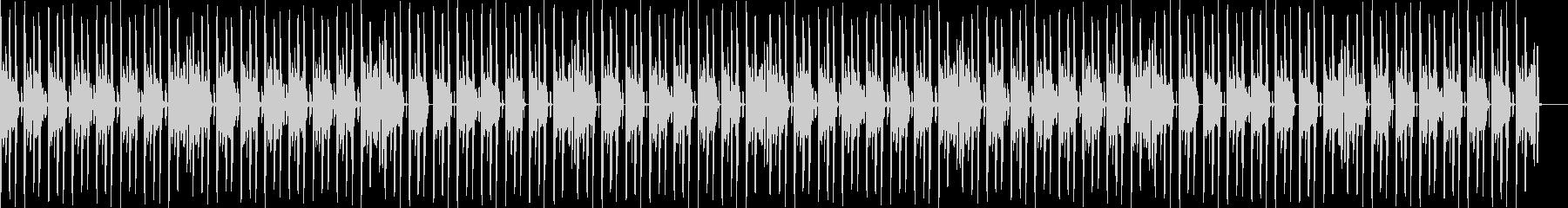 かわいい楽しいEDMエンディングの未再生の波形