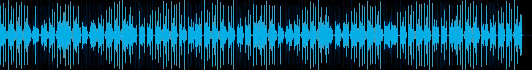かわいい楽しいEDMエンディングの再生済みの波形