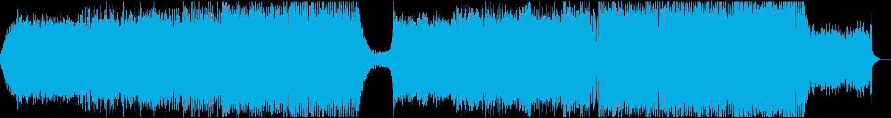 キラキラした春っぽいシンセ主体EDMの再生済みの波形
