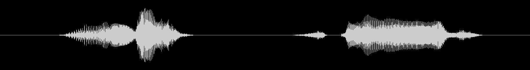 クイズ・ゲーム向け「問題ステージ!↑↑」の未再生の波形