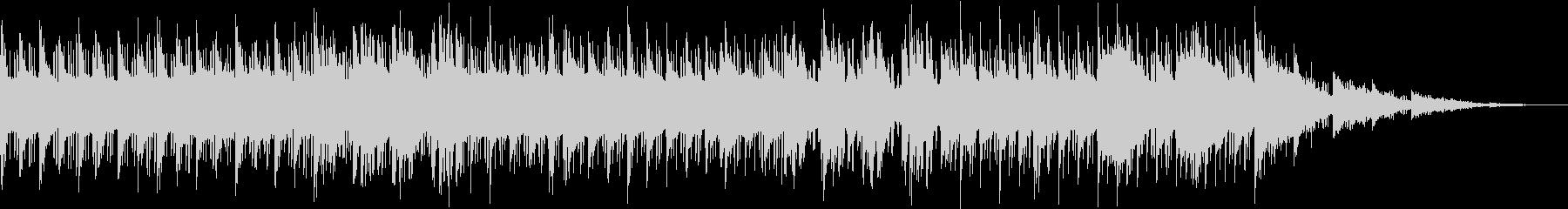 ASMR要素満載のおしゃれHIPHOPの未再生の波形
