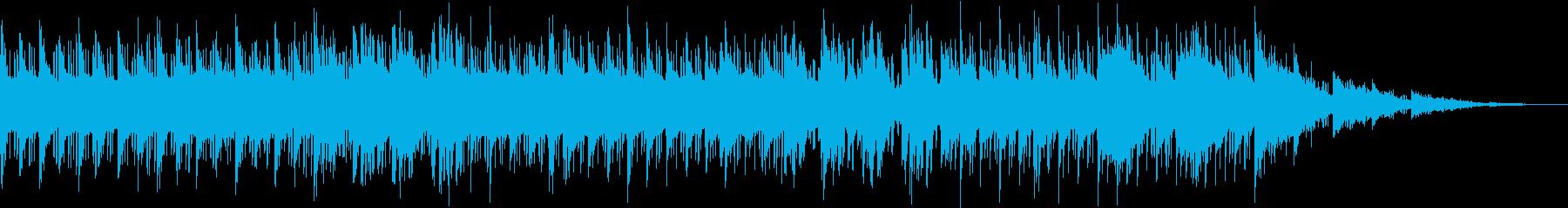 ASMR要素満載のおしゃれHIPHOPの再生済みの波形