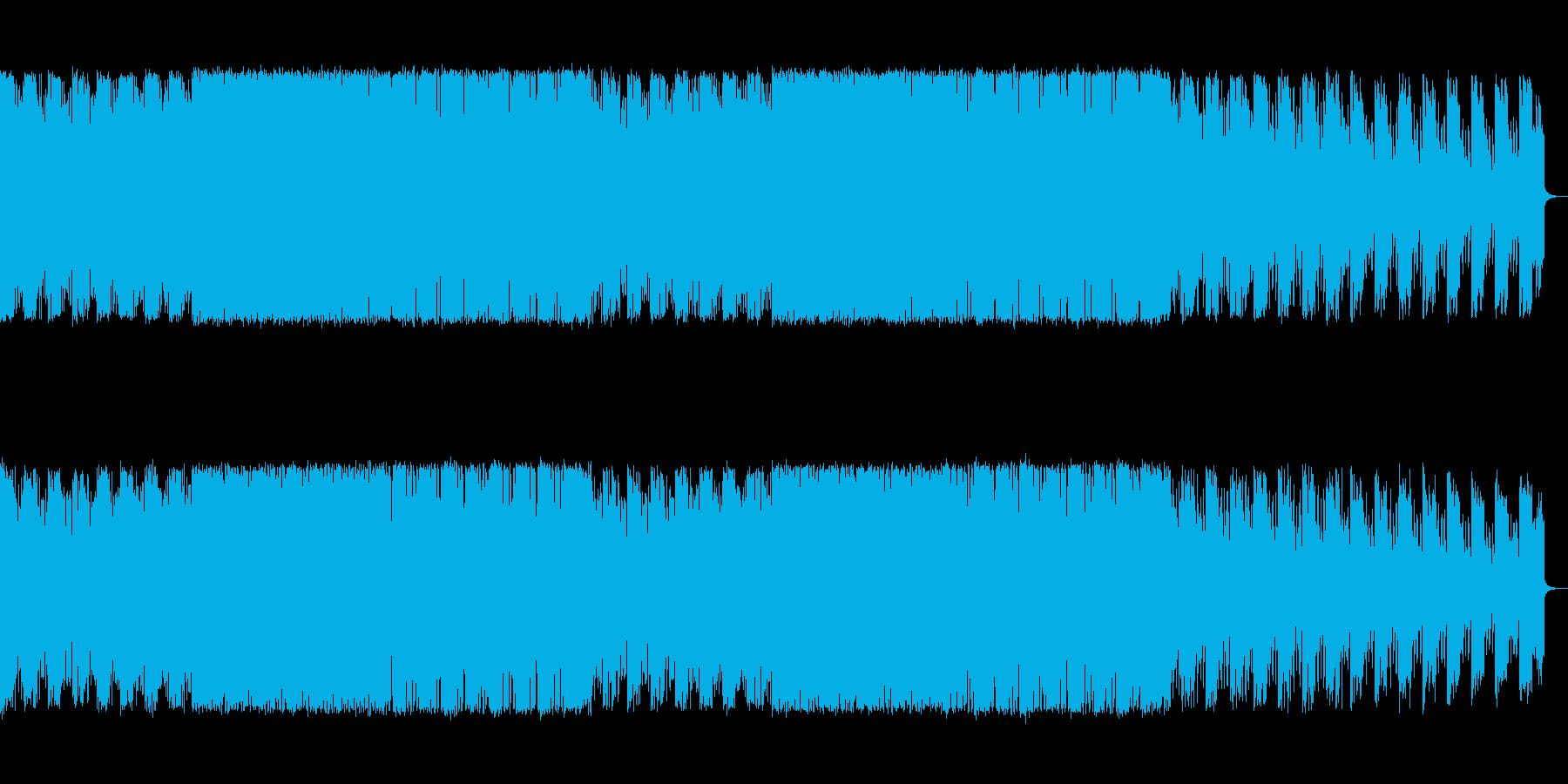 緊迫感と焦燥感のある電子系ボス系の曲【…の再生済みの波形