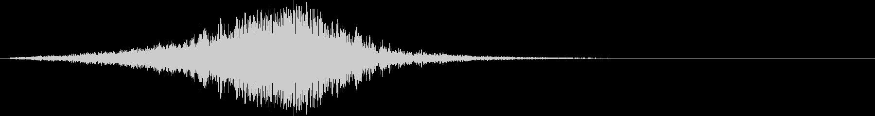 ストリングス:恐怖迫る怖い音(ホラー)2の未再生の波形