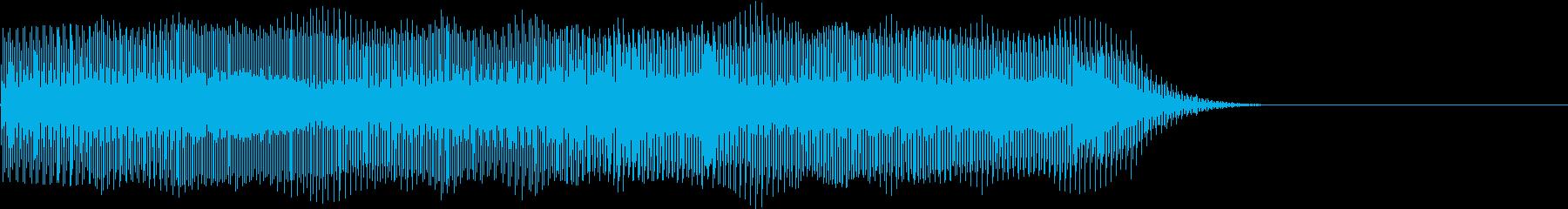 Game 煽る様な挑発エフェクト音の再生済みの波形