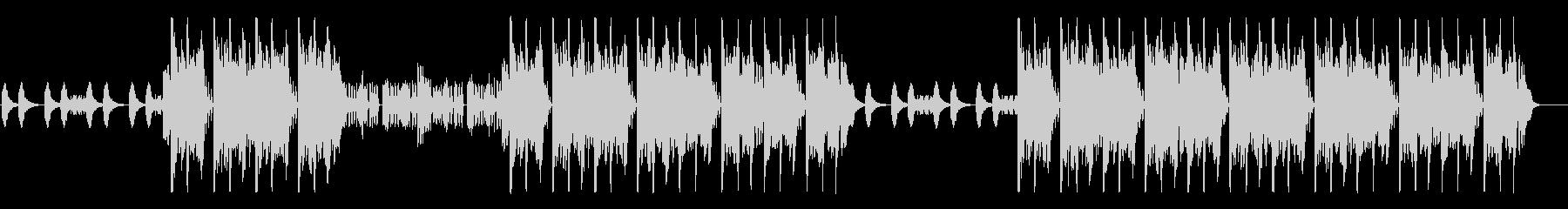 攻撃型HipHopの未再生の波形
