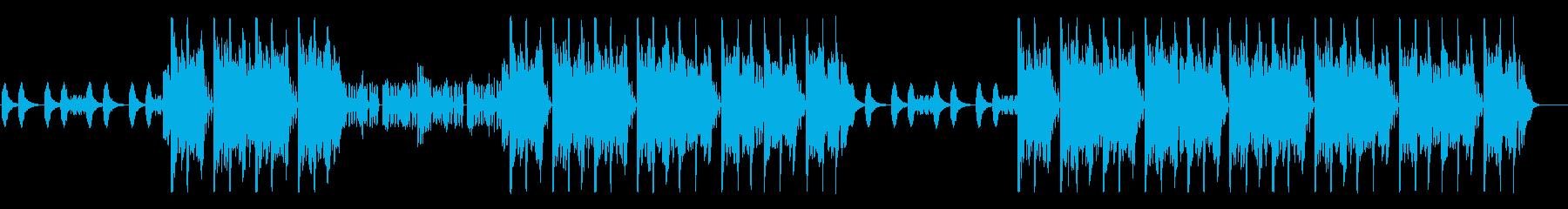 攻撃型HipHopの再生済みの波形