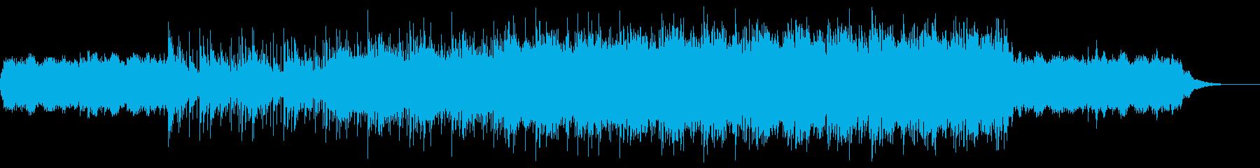 ダークな雰囲気シネマティックアンビエントの再生済みの波形