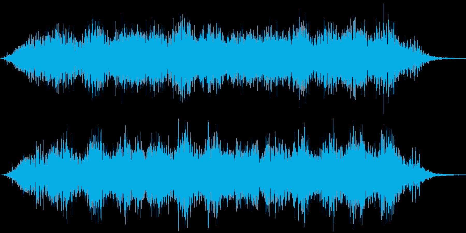 SF的瞑想の再生済みの波形