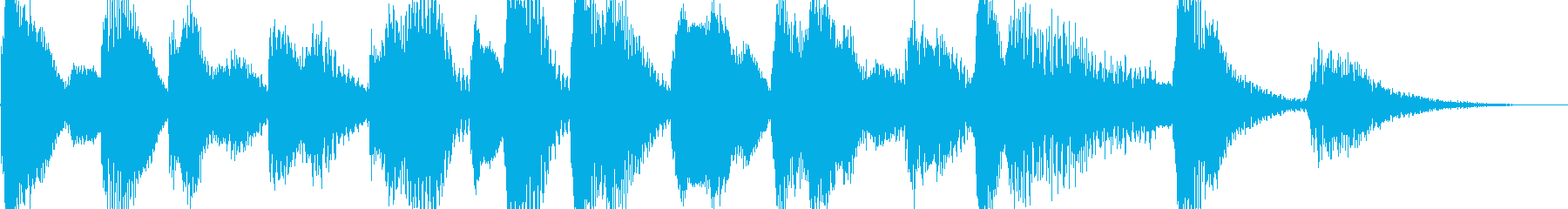 ラグタイムピアノ05sサウンドの再生済みの波形