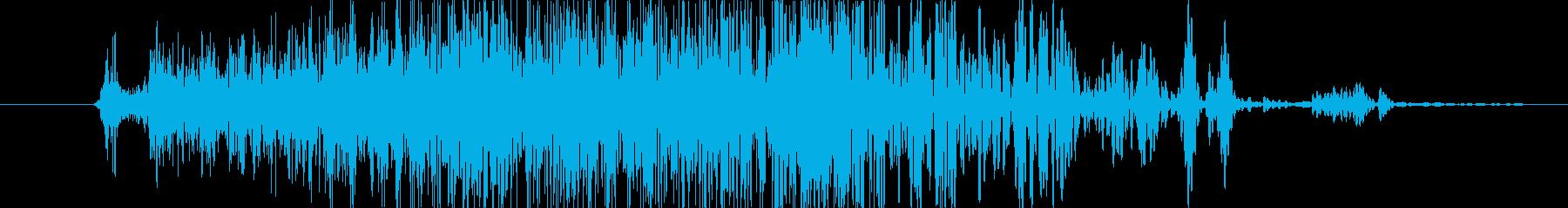 ドア ストーンクローズ01の再生済みの波形