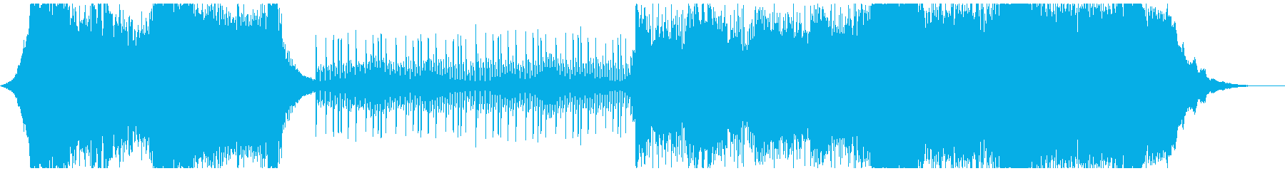 Hollywood-style orchestra's reproduced waveform