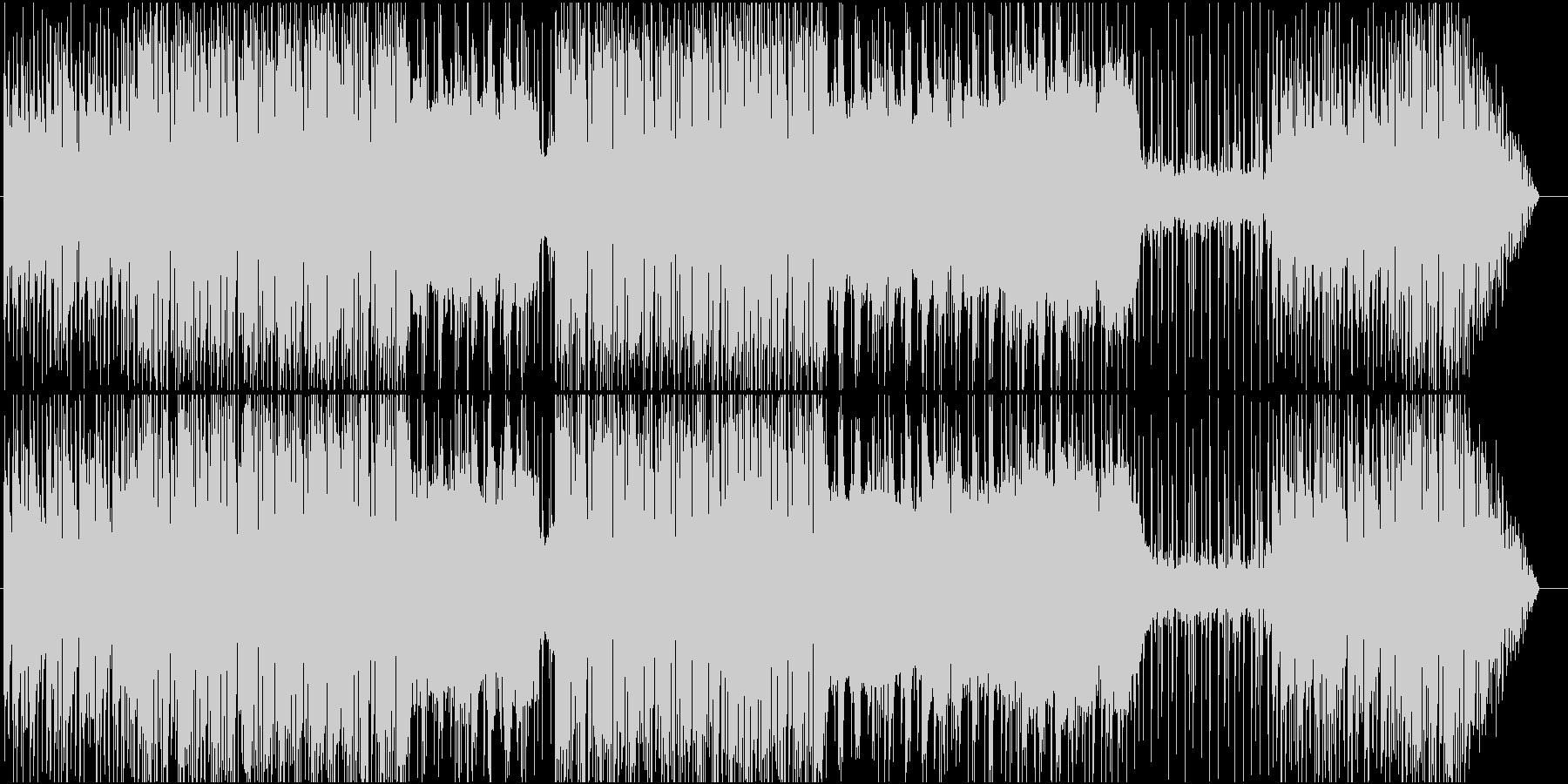わくわくするようなRPG風BGM の未再生の波形