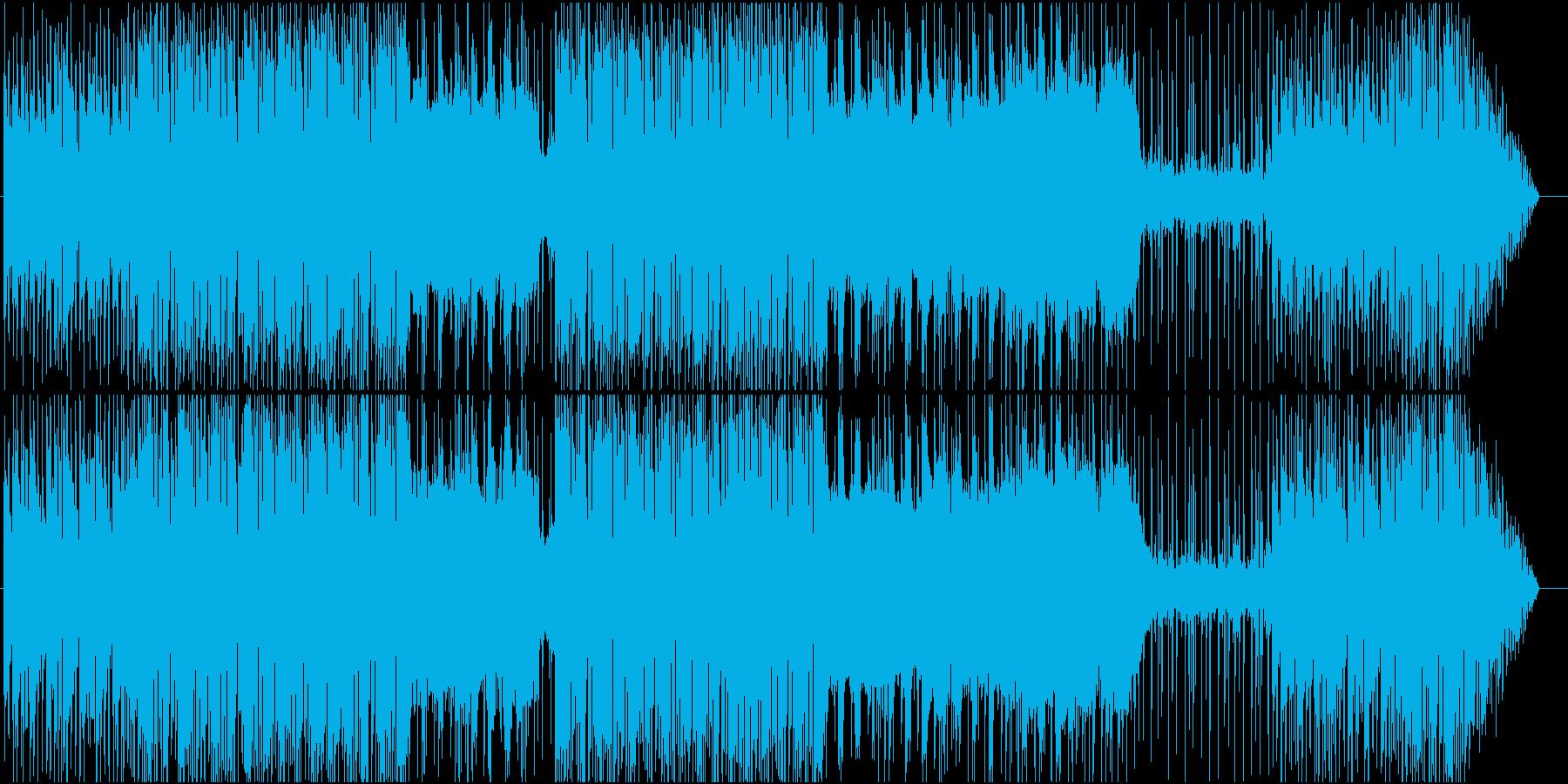 わくわくするようなRPG風BGM の再生済みの波形