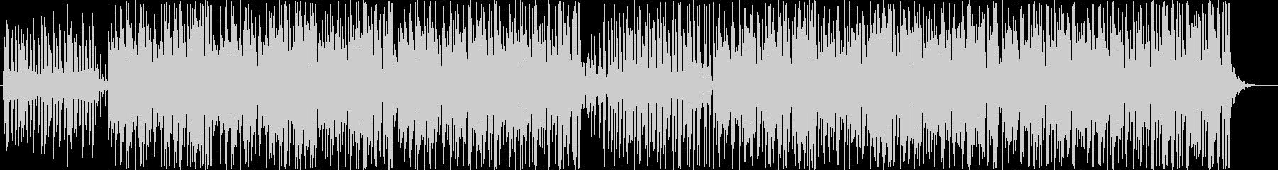ほのぼのとしたボサノバの未再生の波形