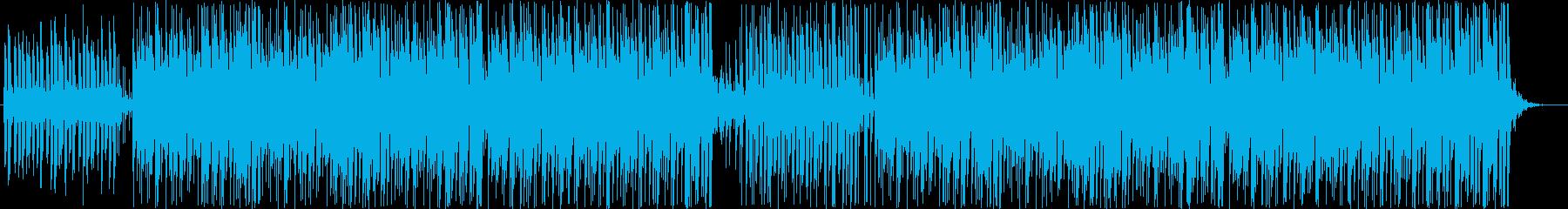 ほのぼのとしたボサノバの再生済みの波形