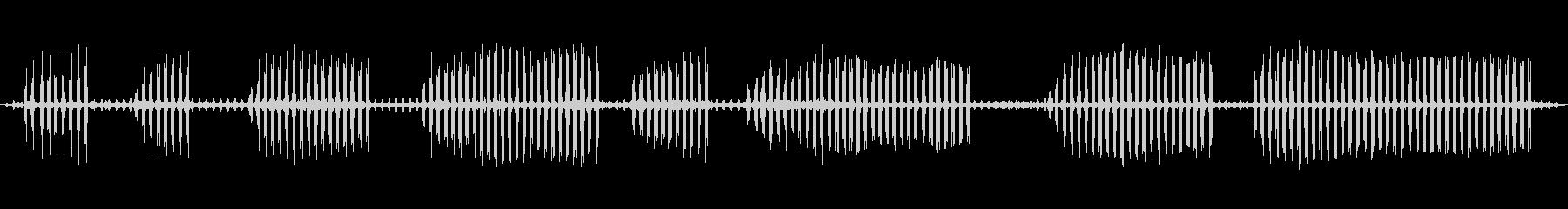 環境音 リバーデイバードコール03の未再生の波形