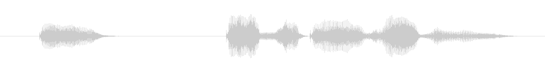 Yeah, but it's okay (female)'s unreproduced waveform