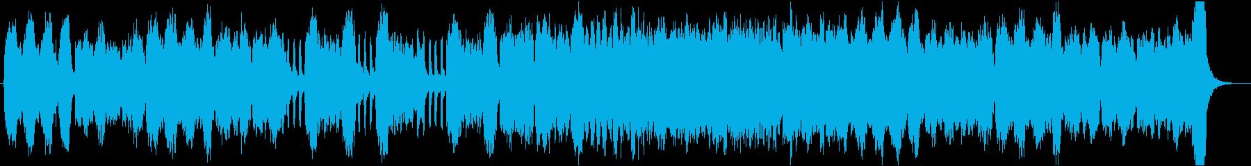 優雅な弦楽器のワルツです。王宮のイメージの再生済みの波形