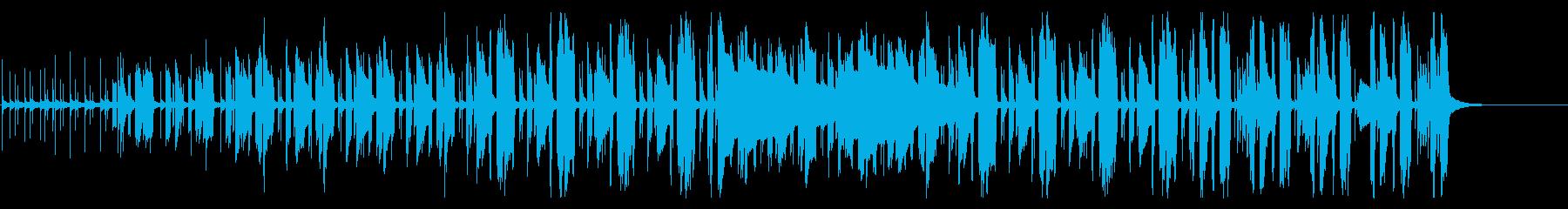 ダーティーな雰囲気のホーンセクションの再生済みの波形