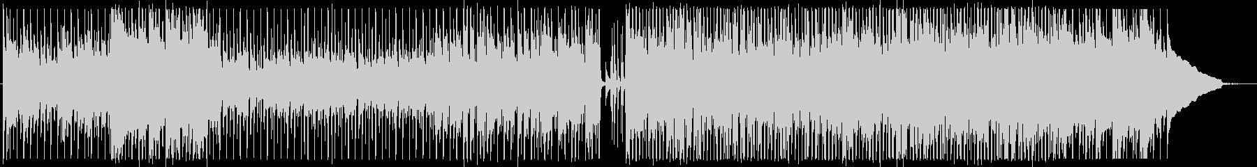 カントリーPOPアコースティックギター曲の未再生の波形