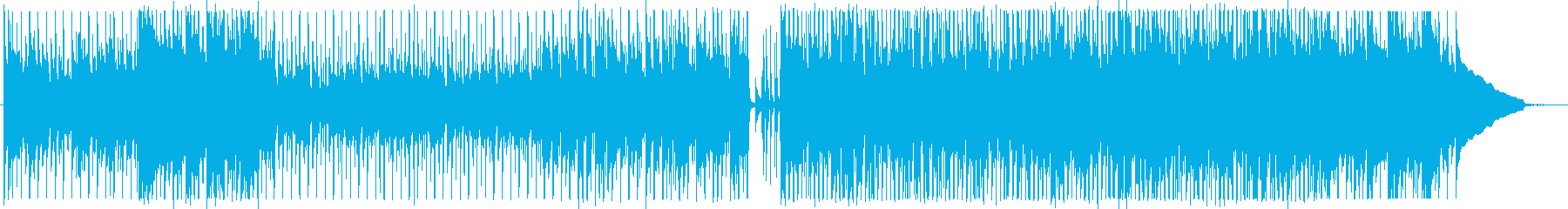 カントリーPOPアコースティックギター曲の再生済みの波形