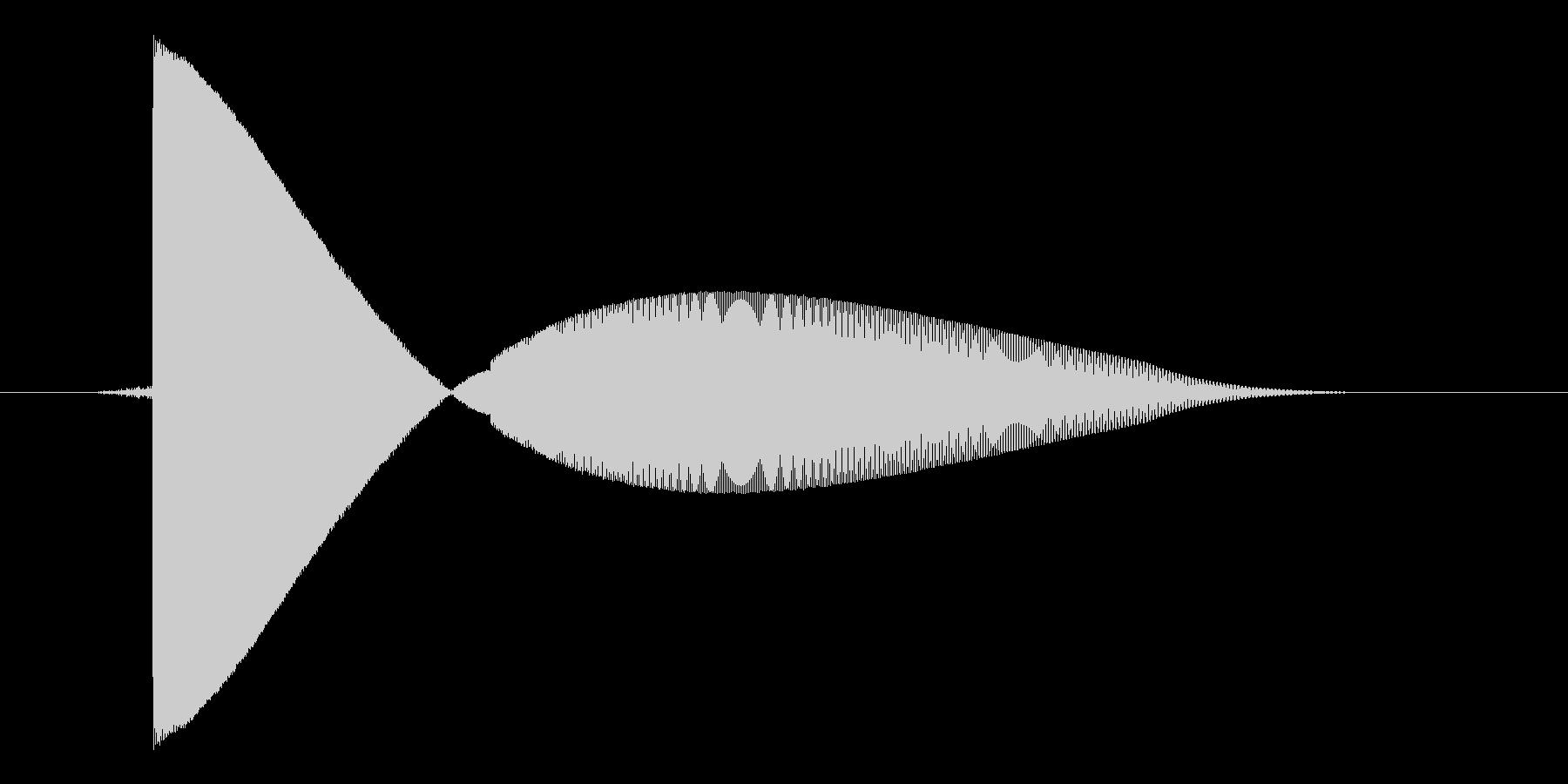 ゲーム(ファミコン風)レーザー音_029の未再生の波形
