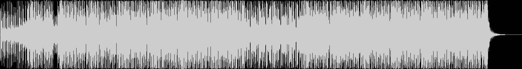 ウキウキ楽しくテンションが上がる明るい曲の未再生の波形
