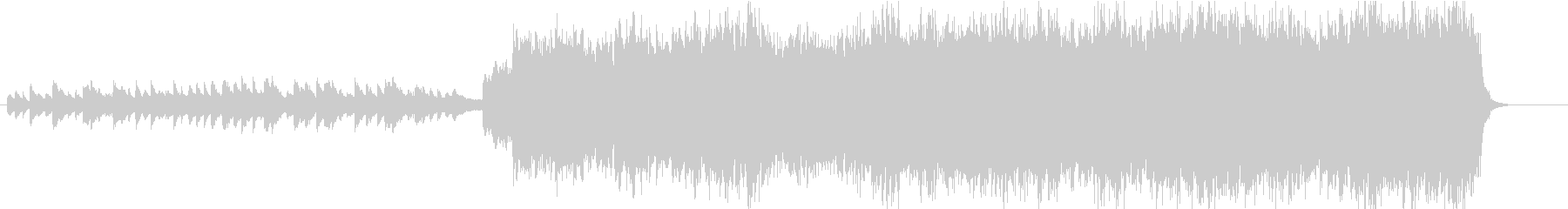 RPGのオープニングの様なオーケストラの未再生の波形