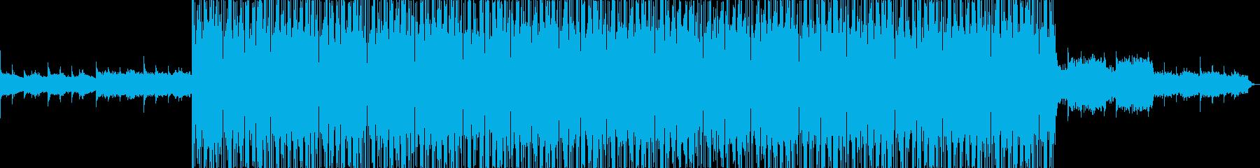映像向け 壮大なイメージのアンビエントの再生済みの波形