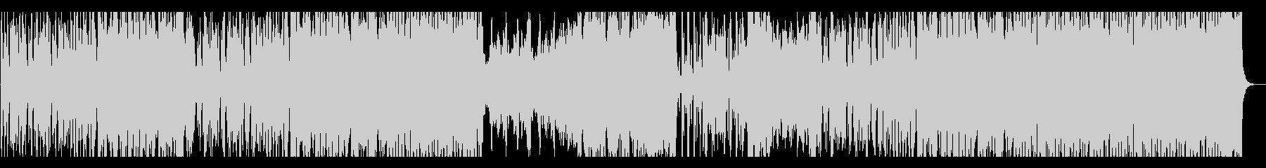 クラシックっぽい軽めのBGMの未再生の波形